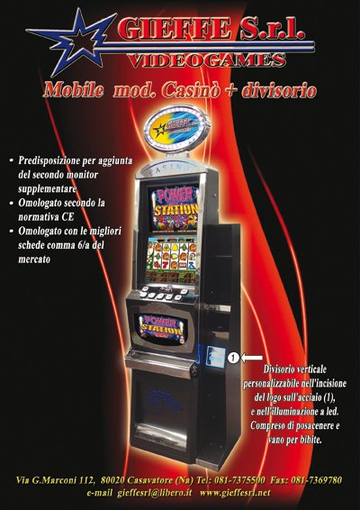 Gieffe slot machine