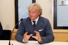 Casinò di Campione d'Italia conferenza stampa di Carlo Pagan amministratore delegato