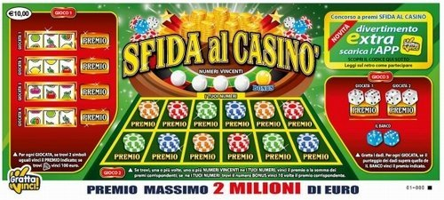 Gran casino gratta e vinci