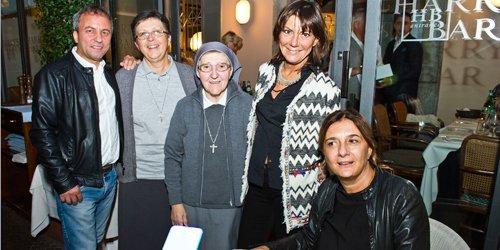 Festa all'Harry's bar di Cernobbio per Zia Fausta