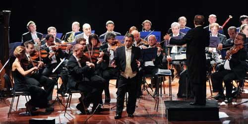 il tenore Ottavio Palmieri