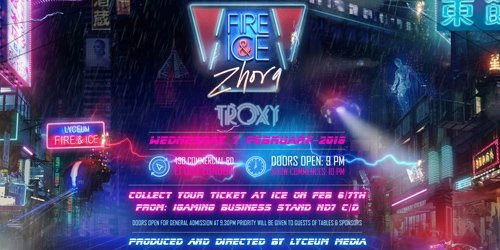 Lyceum Fire & Ice party