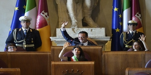 I consiglieri 'voltagabbana' del Comune di Roma. Il distanziometro ...