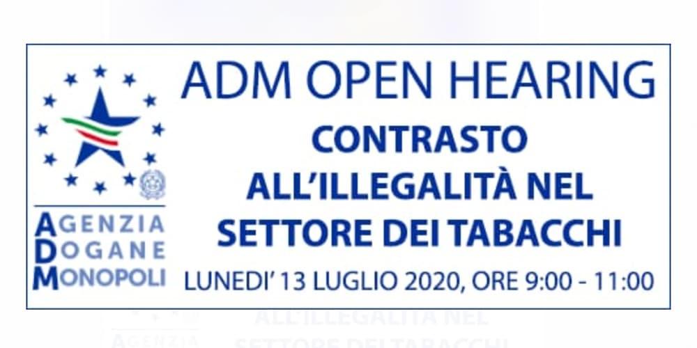ADM open hearing