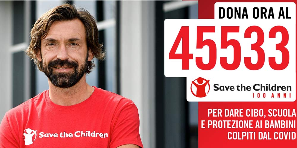 Pirlo Save the Children