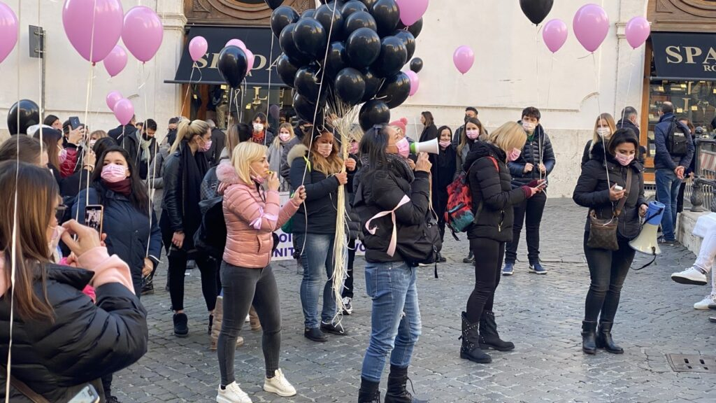 Manifestazione 12 Gennaio