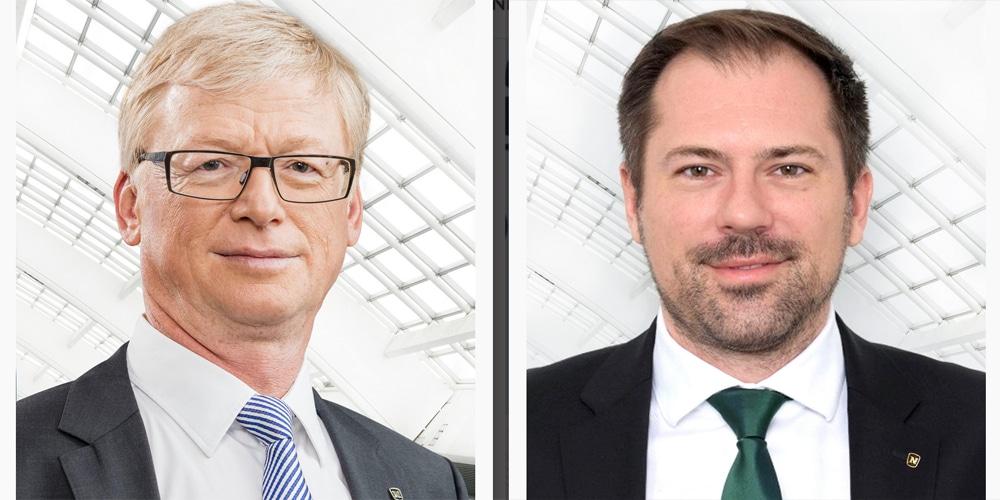 Walter Eschbacher e Jakob Rothwangl